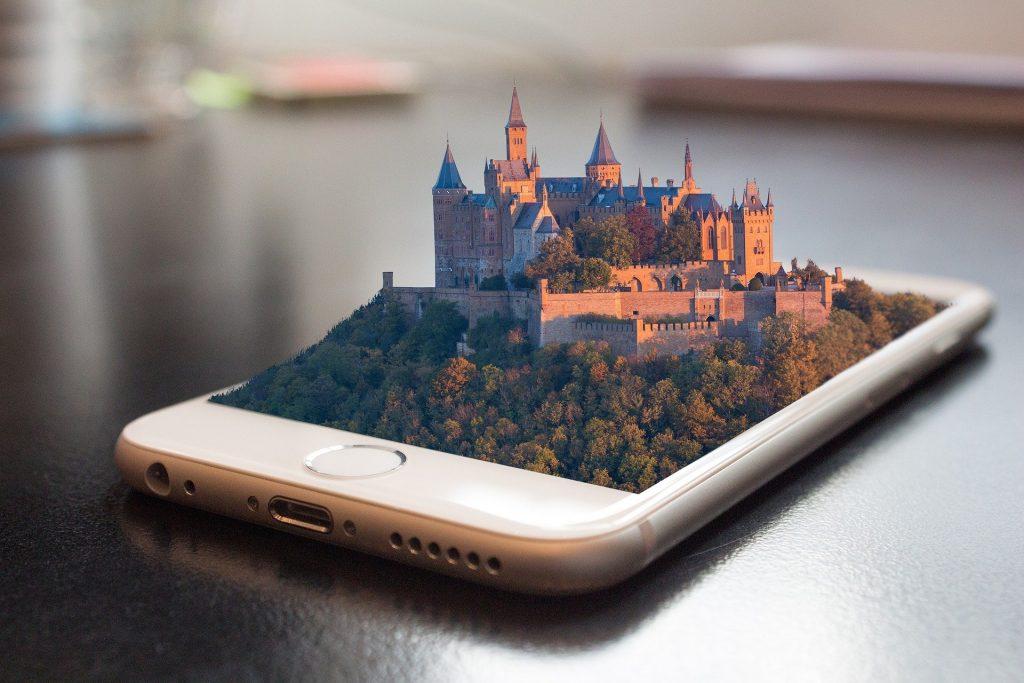 Dieses Bild zeigt eine eine 3D-Visualisierung. AR, VR und 3D werden in der Tourismusbranche immer wichtiger.