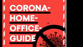 Abgebildet ist das Cover des Guides Corona Homeoffice von t3n