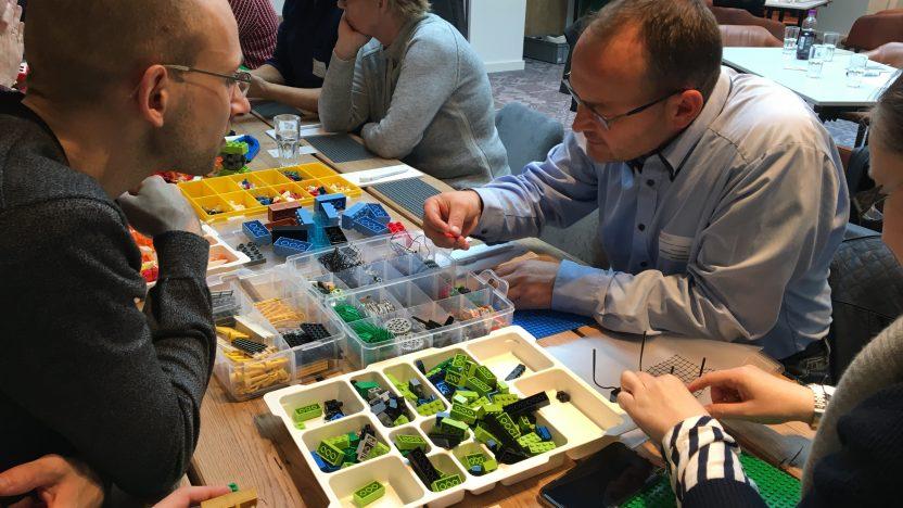 Die Methode LEGO® SERIOUS PLAY® erfreut sich großer Beliebtheit