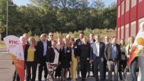 Gruppenbild bei einem IMC-AG-Kundenevent