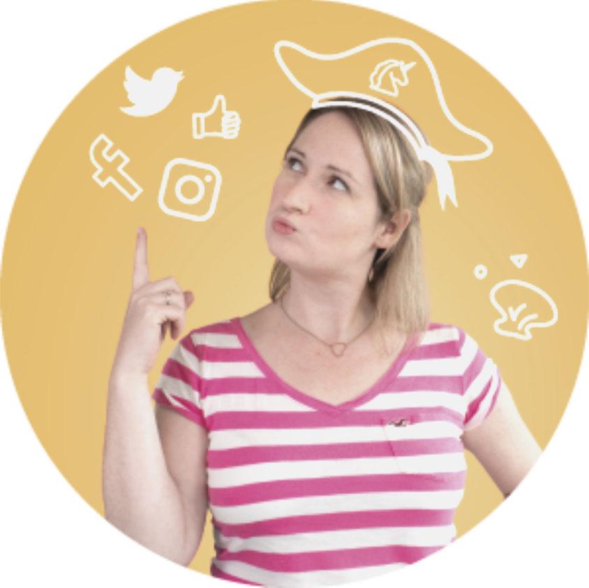 Social-Media-Profil Kerstin Steffen (Quelle: IMC)