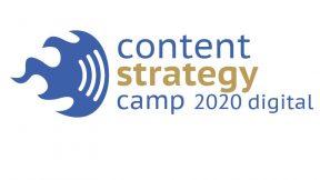 Contentstrategiecamp 2020 Logo