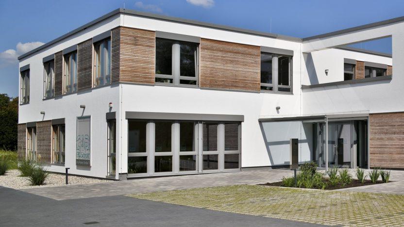Das Gebäude der CAD Schroer GmbH in Moers