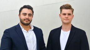 Richard Göldner und Emil Buxmann sind die beiden Gründer von Cathago