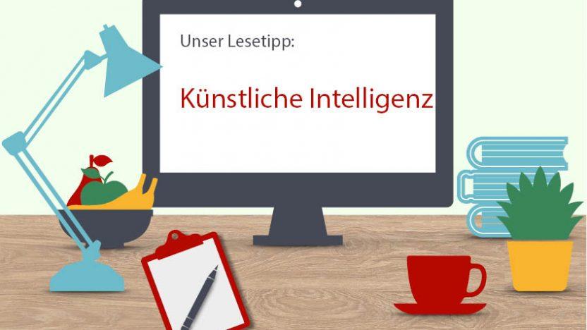 Auf einem Vorschaubild zur Digitale Lesezeit zum Thema KI.