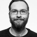 Porträtfoto von Harry Hegenbarth in schwarz-weiß.