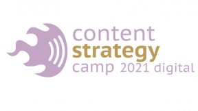 Logo Content Strategy Camp 2021